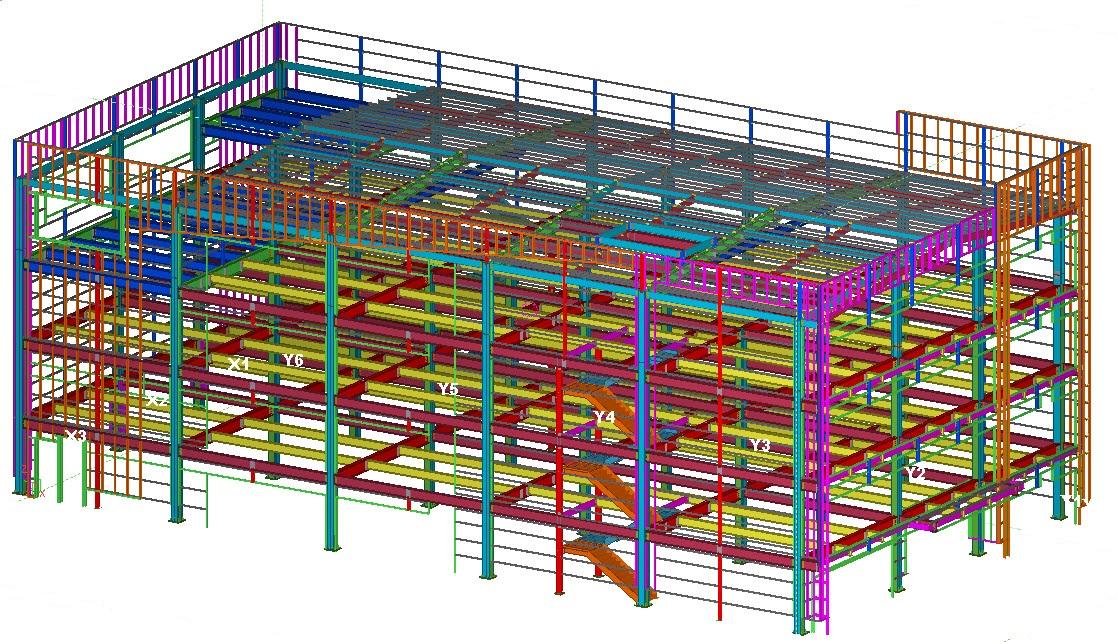 豐原健身房新建工程3D圖