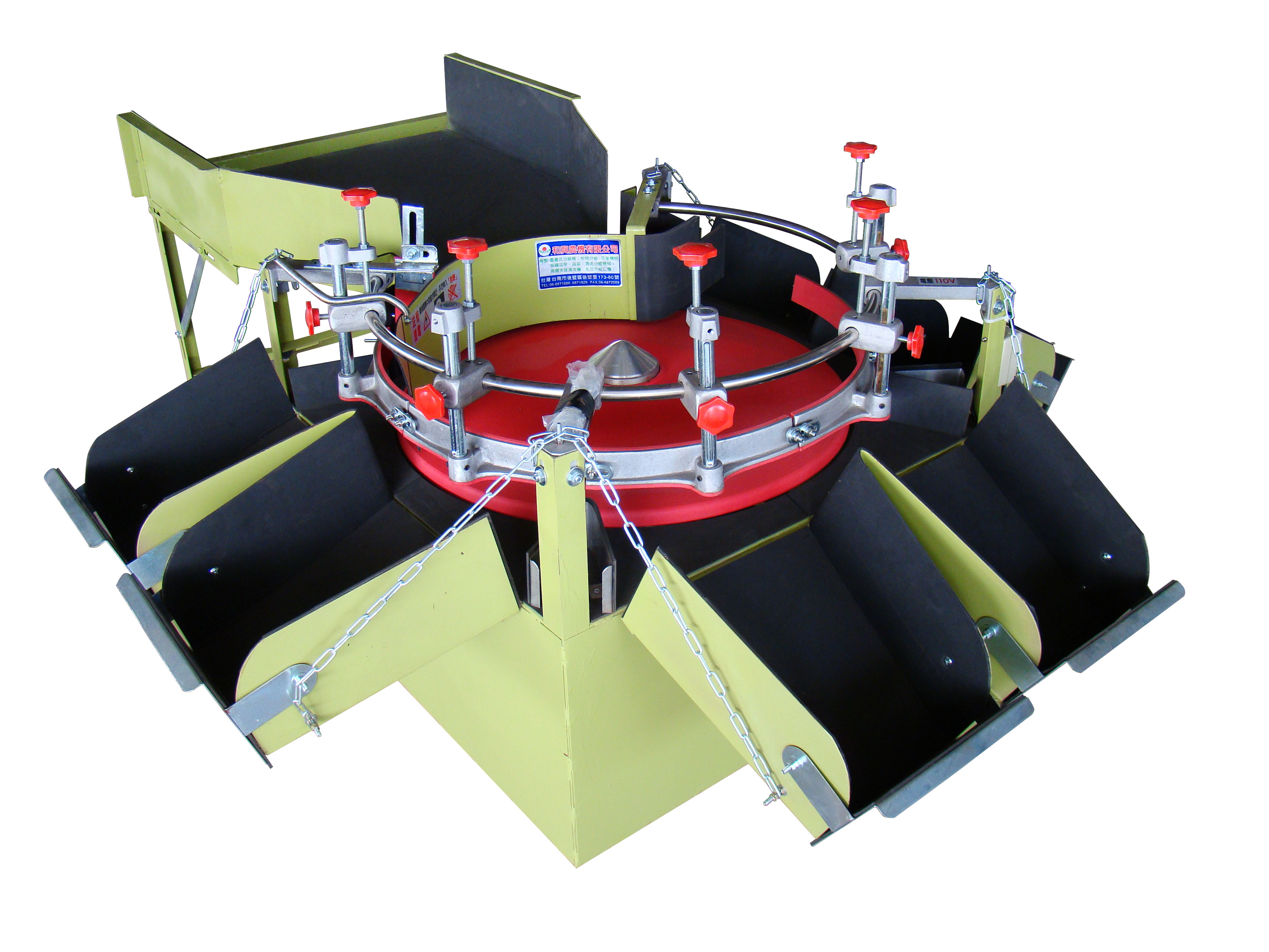 CL-6型 圓盤式分級機