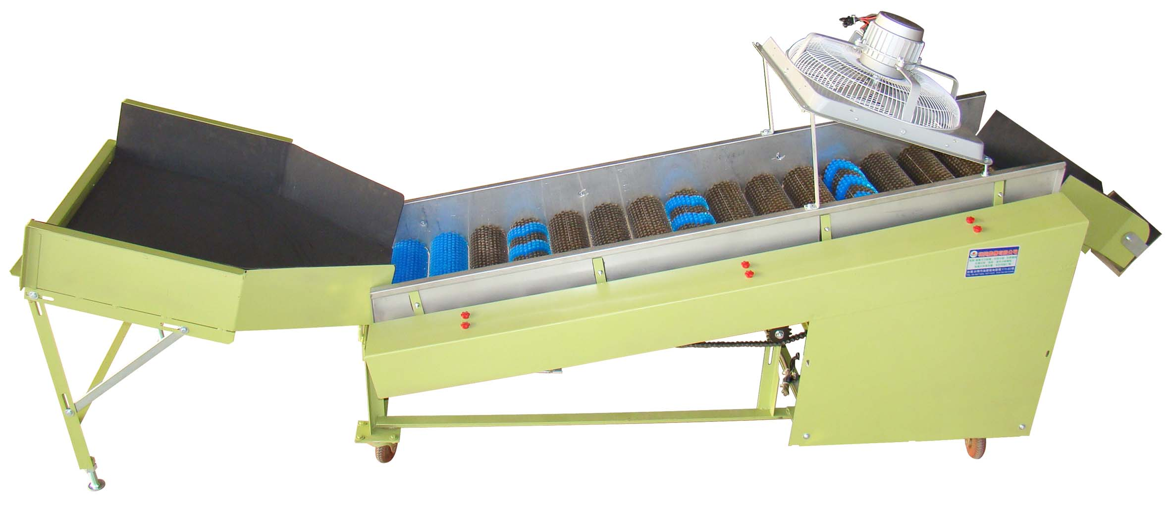 CL-7A 嘉南牌階梯式滾柱毛刷清洗機
