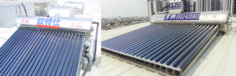 台南永康-原按裝在頂樓平台的太陽能移機至鐵皮屋後 機身直接與鐵皮屋貼合