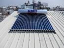 台南市安南區-鐵皮屋式真空管太陽能熱水器