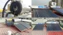 台南市永康區WTO太陽能熱水器熱水桶漏水-更換亞特仕真空管太陽能熱水器2組