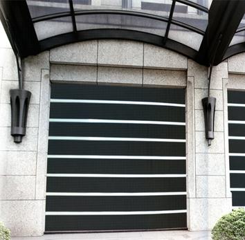 環保阻熱性-單軌電動摺疊捲門